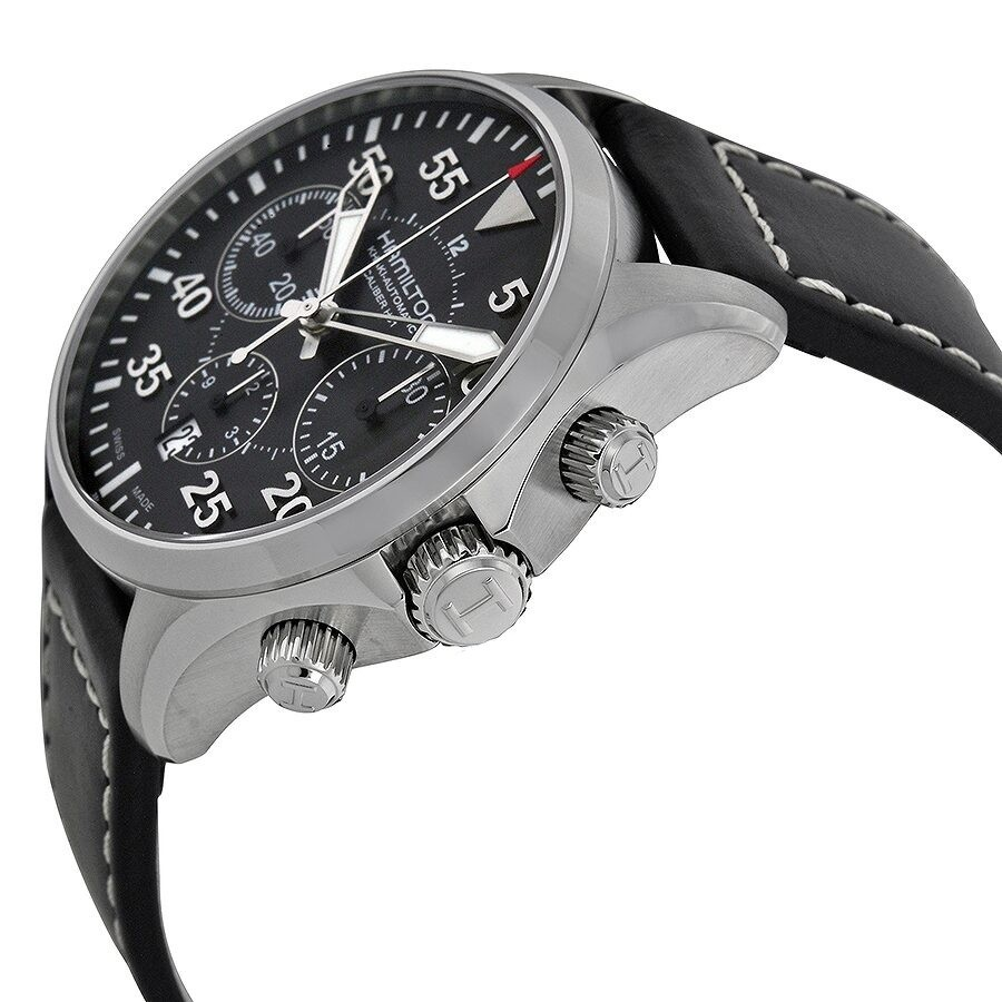 Hamilton Aviation Pilot Auto Chrono Ref. H64666735