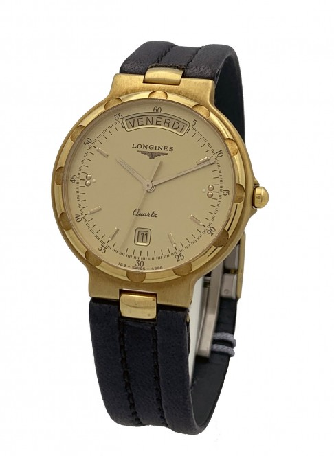 Longines Conquest Day Date oro giallo Ref. 44937.926