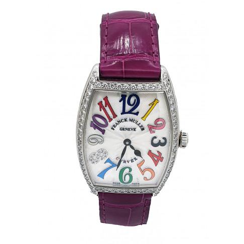 Franck Muller Cintree Curvex Colour Dreams Diamonds Edizione Limitata Ref. 2852 QZ COL DRM D 1R