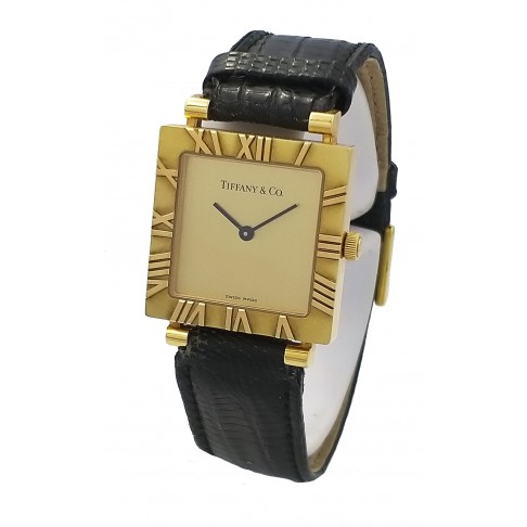 Tiffany Atlas Lady's oro giallo  Ref. L3630