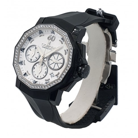 Corum Admiral's Cup Chronograph 66 Diamonds Lim. Edition Ref. 984.970.97-F371 AA32