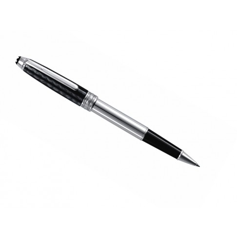 Montblanc penna a sfera Solitaire Carbon & Steel