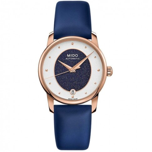 Mido Baroncelli Wild Stone PVD Rose Gold