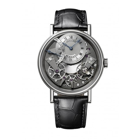 Breguet Tradition Automatic Retrograde Seconds White Gold 18 kt