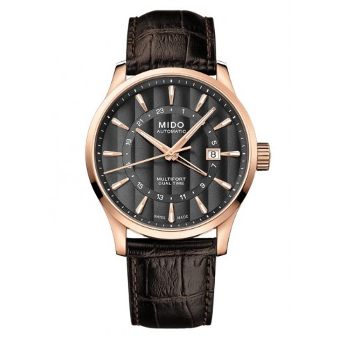 Mido Multifort Dual Time GMT
