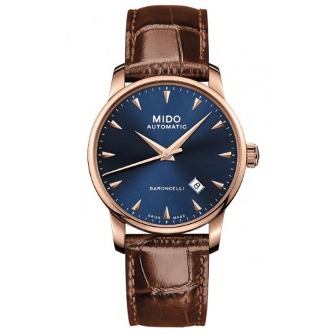Mido Baroncelli Midnight Blue Gent 38 mm