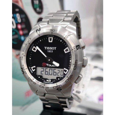 Tissot T-Touch II Stainless Steel Ref. T0474201105100