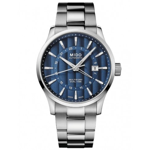 Mido Multifort Dual Time GMT Ref. M0384291104100