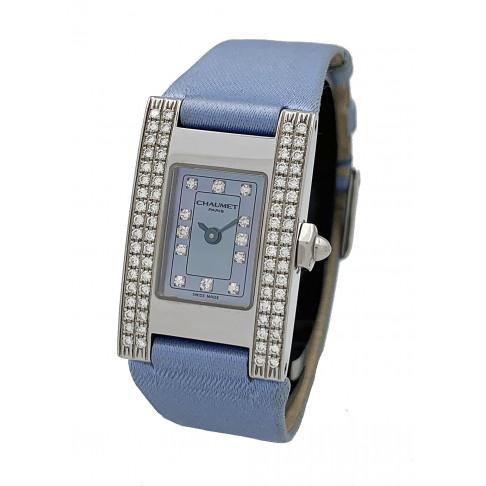 Chaumet Rectangular Ladies Diamonds Ref. W01212/056