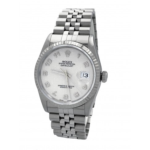 Rolex Oyster Perpetual Datejust Logo Dial Ref. 16234